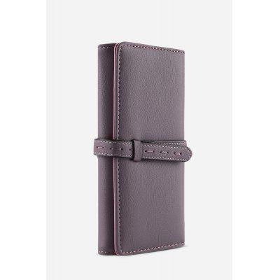Guapabien Lady Long Cash Card Clutch WalletWallets<br>Guapabien Lady Long Cash Card Clutch Wallet<br><br>Closure Type: Belt<br>Gender: For Women<br>Hardness: Soft<br>Height: 19.3cm / 7.60inch<br>Interior: Interior Slot Pocket<br>Length(CM): 9.5cm / 3.74inch<br>Main Material: PU Leather<br>Package Contents: 1 x Wallet<br>Package size (L x W x H): 10.00 x 3.60 x 19.80 cm / 3.94 x 1.42 x 7.8 inches<br>Package weight: 0.182 kg<br>Pattern Type: Solid<br>Product weight: 0.170 kg<br>Style: Vintage<br>Wallets Type: Clutch Wallets<br>Width: 3.1cm / 1.22inch