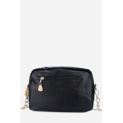 Guapabien Crown Rivet Grid Shoulder Messenger BagCrossbody Bags<br>Guapabien Crown Rivet Grid Shoulder Messenger Bag<br><br>Closure Type: Zipper<br>Embellishment: Rivet<br>Gender: For Women<br>Handbag Type: Shoulder bag<br>Hardness: Soft<br>Interior: Cell Phone Pocket<br>Main Material: Polyester<br>Occasion: Versatile<br>Package Contents: 1 x Shoulder Messenger Bag<br>Package size (L x W x H): 15.50 x 11.50 x 7.00 cm / 6.1 x 4.53 x 2.76 inches<br>Package weight: 0.2200 kg<br>Pattern Type: Plaid<br>Product weight: 0.1860 kg<br>Size(CM)(L*W*H): 22 x 8.1 x 15.3 cm / 8.66 x 3.19 x 6.02 inches<br>Strap Length: Range of strap: 36.5 - 53.5 cm / 14.37 - 21.06 inch<br>Style: Fashion