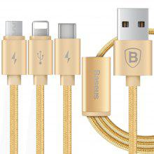 Baseus Portman Series 3 in 1 Charge Cable 1.2M