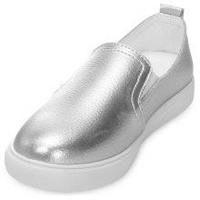 58abd0445828 Casual Women All-Match Slip-on Platform Flat Shoes Loafers