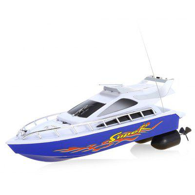 C101A Remote Control Boat Model Ship Sailing Plastic Toy