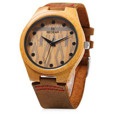 REDEAR SJ1448 - 5 Female Wooden Quartz Watch