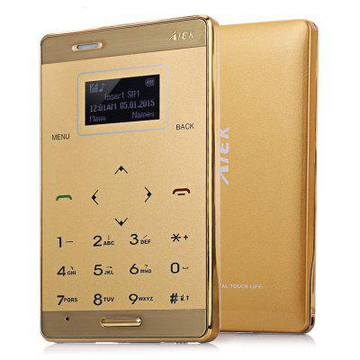 AIEK M3 1.0 inch Quad Band Card Phone
