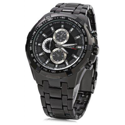Buy CURREN 8023 Men Quartz Watch, BLACK, Watches & Jewelry, Men's Watches for $17.75 in GearBest store