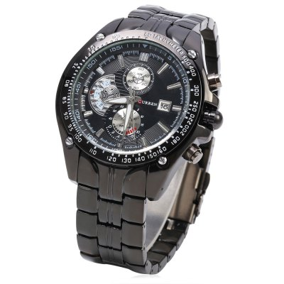 Buy CURREN 8083 Male Quartz Watch, BLACK, Watches & Jewelry, Men's Watches for $18.32 in GearBest store