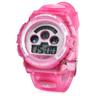HOSKA H001B Bambino LED Digital Watch