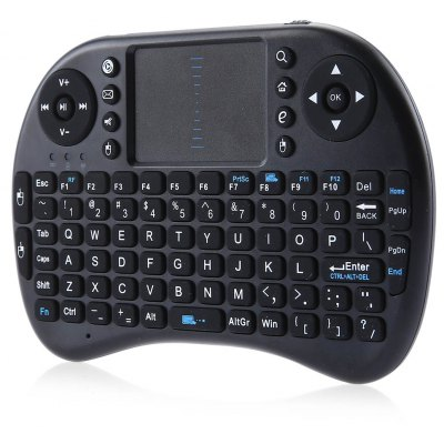 iPazzPort KP - 810 - 21 I8 Wireless QWERTY Keyboard with Touchpad Mouse