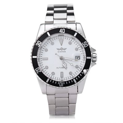 WINNER W042602 Male Automatic Mechanical WatchMens Watches<br>WINNER W042602 Male Automatic Mechanical Watch<br><br>Band Length: 8.27 inch<br>Band Material Type: Stainless Steel<br>Band Width: 18mm<br>Case material: Alloy<br>Case Shape: Round<br>Clasp type: Folding Clasp with Safety<br>Dial Diameter: 1.57 inch<br>Dial Display: Analog<br>Dial Window Material Type: Hardlex<br>Feature: Luminous, Date<br>Gender: Men<br>Movement: Automatic Self-Wind<br>Package Contents: 1 x WINNER W042602 Male Automatic Mechanical Watch<br>Package Size(L x W x H): 11.50 x 5.50 x 2.50 cm / 4.53 x 2.17 x 0.98 inches<br>Package weight: 0.129 kg<br>Product Size(L x W x H): 21.00 x 4.50 x 1.50 cm / 8.27 x 1.77 x 0.59 inches<br>Product weight: 0.107 kg<br>Style: Sport, Business<br>Water Resistance Depth: 10m