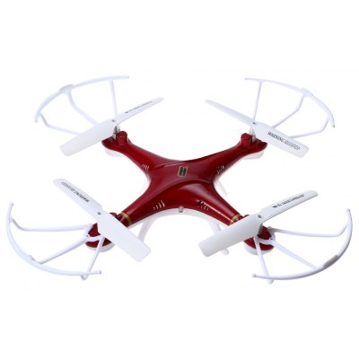 Huanqi 897B 2.4G 4CH 6-Axis Gyro Quadcopter -  RED
