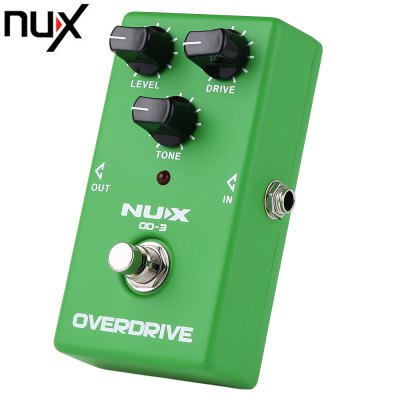 NUX OD - 3 Vintage Overdrive Booster Guitar Effect Pedal