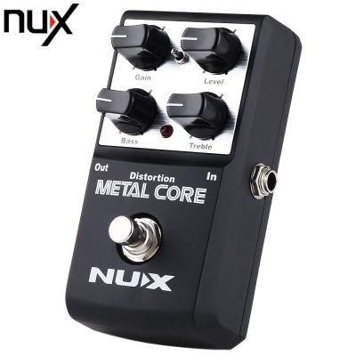 NUX Metal Core Distortion Guitar Effect Pedal
