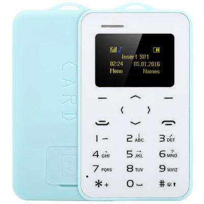AIEK C6 1.0 inch Card Phone