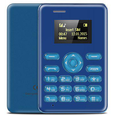 AIEK Q3 1.0 inch Card Phone