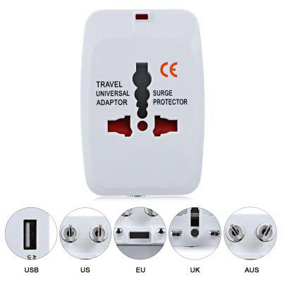 HHT - 931 Universal Charging Travel Adapter + Storage Bag