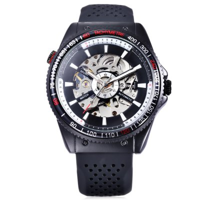 WINNER F120592 Men Auto Mechanical WatchMens Watches<br>WINNER F120592 Men Auto Mechanical Watch<br><br>Band Length: 8.41 inch<br>Band Material Type: Silicone<br>Band Width: 20mm<br>Case material: Alloy<br>Case Shape: Round<br>Clasp type: Pin Buckle<br>Dial Diameter: 1.75 inch<br>Dial Display: Analog<br>Dial Window Material Type: Hardlex<br>Feature: Luminous<br>Gender: Men<br>Movement: Automatic Self-Wind<br>Package Contents: 1 x WINNER F120592 Men Auto Mechanical Watch<br>Package Size(L x W x H): 27.00 x 5.60 x 2.40 cm / 10.63 x 2.2 x 0.94 inches<br>Package weight: 0.125 kg<br>Product Size(L x W x H): 26.00 x 4.60 x 1.40 cm / 10.24 x 1.81 x 0.55 inches<br>Product weight: 0.104 kg<br>Style: Business