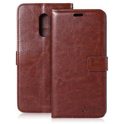 Tomkas Crazy Horse Series Wallet Case for Xiaomi Redmi Pro