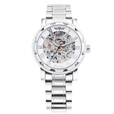 Winner F120604 Men Mechanical WatchMens Watches<br>Winner F120604 Men Mechanical Watch<br><br>Band Length: 8.27 inch<br>Band Material Type: Stainless Steel<br>Band Width: 20mm<br>Case material: Alloy<br>Case Shape: Round<br>Clasp type: Folding Clasp<br>Dial Diameter: 1.57 inch<br>Dial Display: Analog<br>Dial Window Material Type: Hardlex<br>Feature: Luminous<br>Gender: Men<br>Movement: Mechanical Hand Wind<br>Package Contents: 1 x Watch<br>Package Size(L x W x H): 11.50 x 5.50 x 2.00 cm / 4.53 x 2.17 x 0.79 inches<br>Package weight: 0.122 kg<br>Product Size(L x W x H): 21.00 x 4.50 x 1.00 cm / 8.27 x 1.77 x 0.39 inches<br>Product weight: 0.100 kg<br>Style: Business