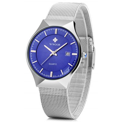 WWOOR 8016 Men Quartz Watch