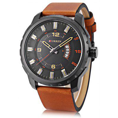 Buy Curren 8245 Male Quartz Watch, BLACK, Watches & Jewelry, Men's Watches for $21.91 in GearBest store
