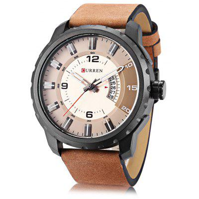 Buy Curren 8245 Male Quartz Watch, BROWN, Watches & Jewelry, Men's Watches for $21.91 in GearBest store