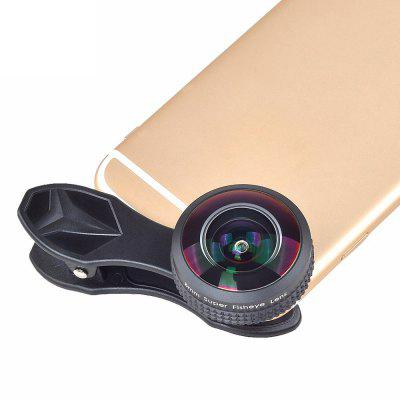 APEXEL 8mm 238 Degree Full Screen HD Super Fisheye Lens