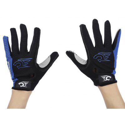 Robesbon Unisex Paired Cycling Full Finger Gloves