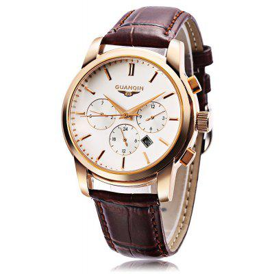 GUANQIN GQ12005 Men Quartz Watch