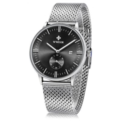 WWOOR 8808 Male Quartz Watch