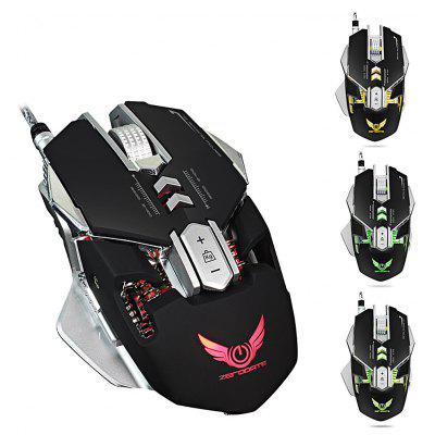 ZERODATE X300 programável Wired Gaming Mouse
