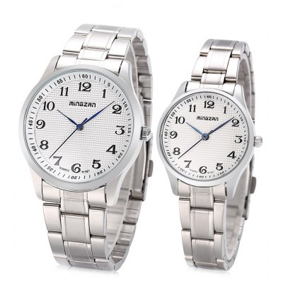 MINGZAN M - 921 Couple Quartz Watch