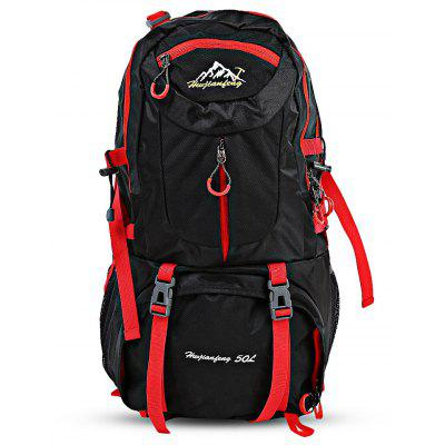 HUWAIJIANFENG 50L Unisex Outdoor Climbing Backpack