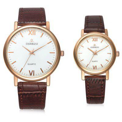 OSHRZO os8025p3 Couple Quartz Watch