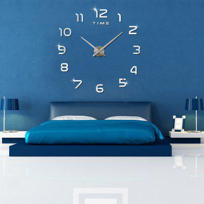 M.Sparkling DIY Mirror Wall ClockClocks<br>M.Sparkling DIY Mirror Wall Clock<br><br>Brand: M.Sparkling<br>Package Contents: 1 x DIY Wall Clock Set, 1 x Bag of Accessories, 1 x User Manual in English and Chinese<br>Package Size(L x W x H): 42.00 x 14.00 x 4.50 cm / 16.54 x 5.51 x 1.77 inches<br>Package weight: 0.4450 kg<br>Product weight: 0.2990 kg