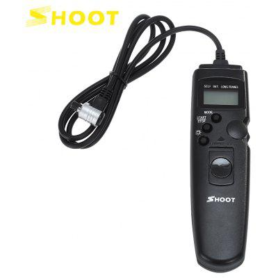 SHOOT RS - 80N3 Timer Shooting Shutter Release Remote Control