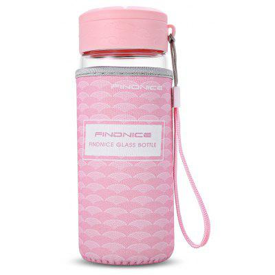 FINDNICE FNB - 0001J Glass Water Bottle