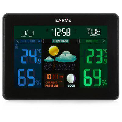 EARME Wireless Digital Weather Station Temperature Monitor