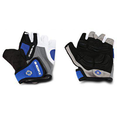 INBIKE Pair of Breathable Half Finger Mountain Bike Cycling Riding Gloves