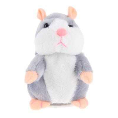Talking Plush Cartoon Hamster Kids Toys
