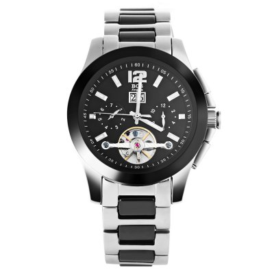 Angela Bos 9001 Men Automatic Wind Mechanical WatchMens Watches<br>Angela Bos 9001 Men Automatic Wind Mechanical Watch<br><br>Band Length: 8.27 inch<br>Band Material Type: Stainless Steel<br>Band Width: 20mm<br>Case material: Stainless Steel<br>Case Shape: Round<br>Clasp type: Butterfly Clasp<br>Dial Diameter: 1.57 inch<br>Dial Display: Analog<br>Dial Window Material Type: Sapphire<br>Feature: Luminous, Date<br>Gender: Men<br>Movement: Automatic Self-Wind<br>Package Contents: 1 x Angela Bos 9001 Men Automatic Wind Mechanical Watch<br>Package Size(L x W x H): 11.50 x 5.50 x 2.50 cm / 4.53 x 2.17 x 0.98 inches<br>Package weight: 0.180 kg<br>Product Size(L x W x H): 21.00 x 4.50 x 1.50 cm / 8.27 x 1.77 x 0.59 inches<br>Product weight: 0.158 kg<br>Style: Business<br>Water Resistance Depth: 100m