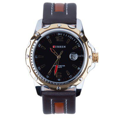 Buy CURREN 8104 Men Quartz Watch, BLACK+GOLD+BLACK, Watches & Jewelry, Men's Watches for $17.77 in GearBest store