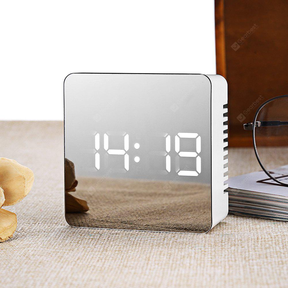 TS - S70 LED Mirror Clock Luminance Level / Night Mode Setting