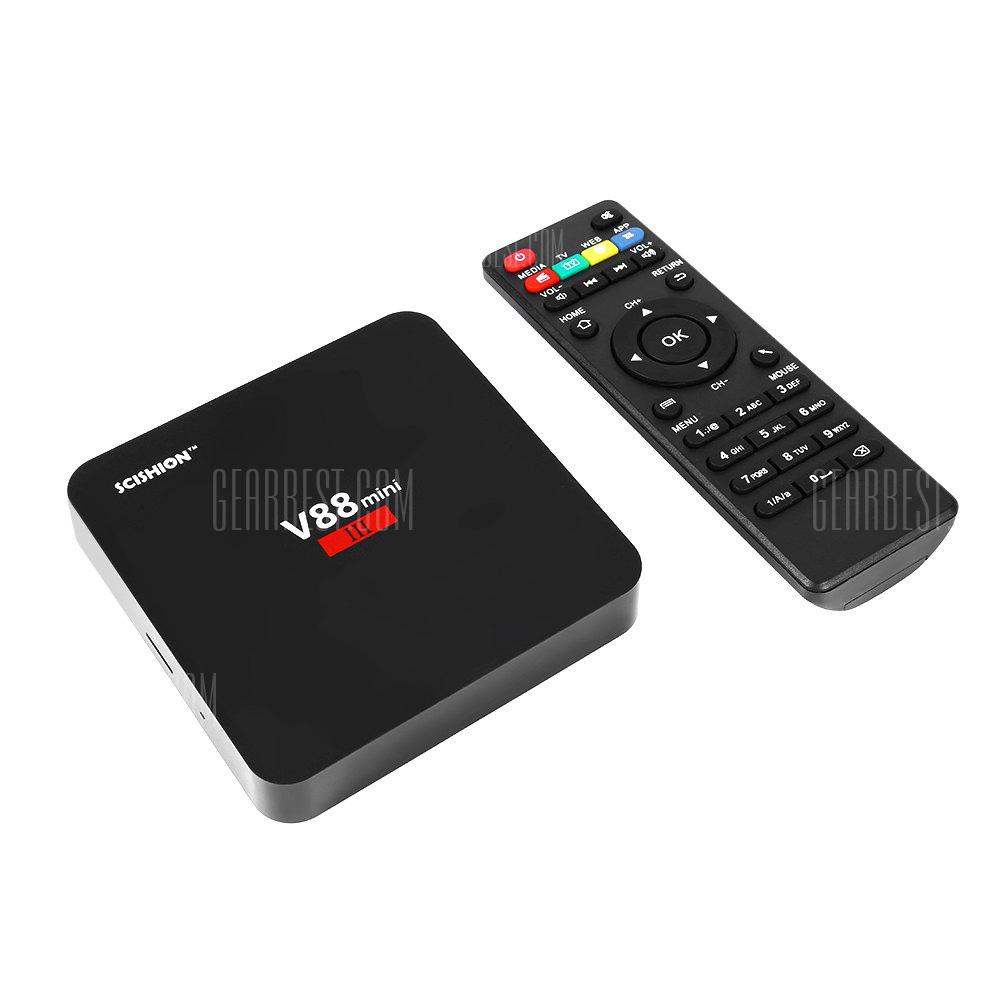 SCISHION V88 Mini III TV Box - EU PLUG 2GB RAM + 8GB ROM
