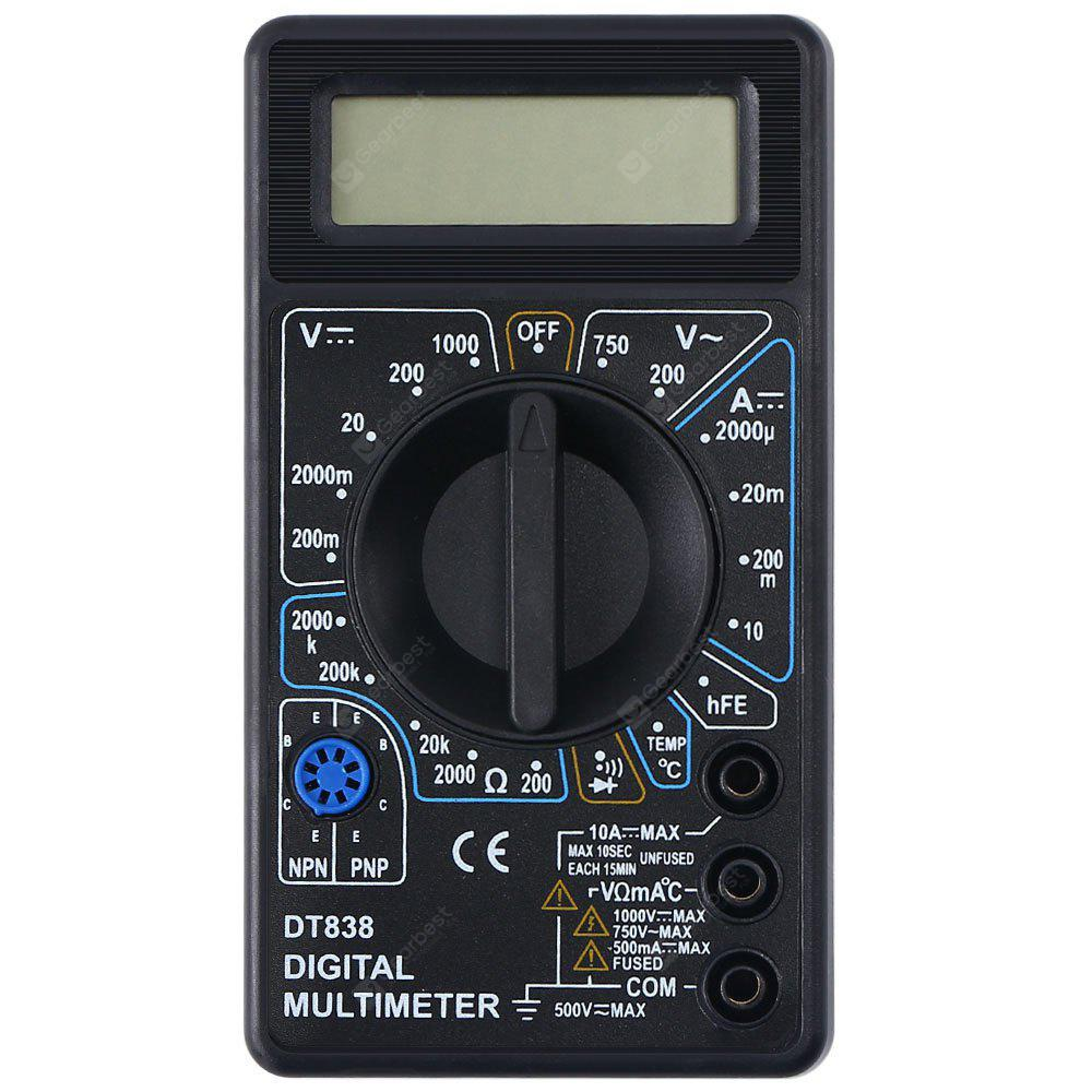 WHDZ DT838 LCD Digital Multimeter Voltmeter