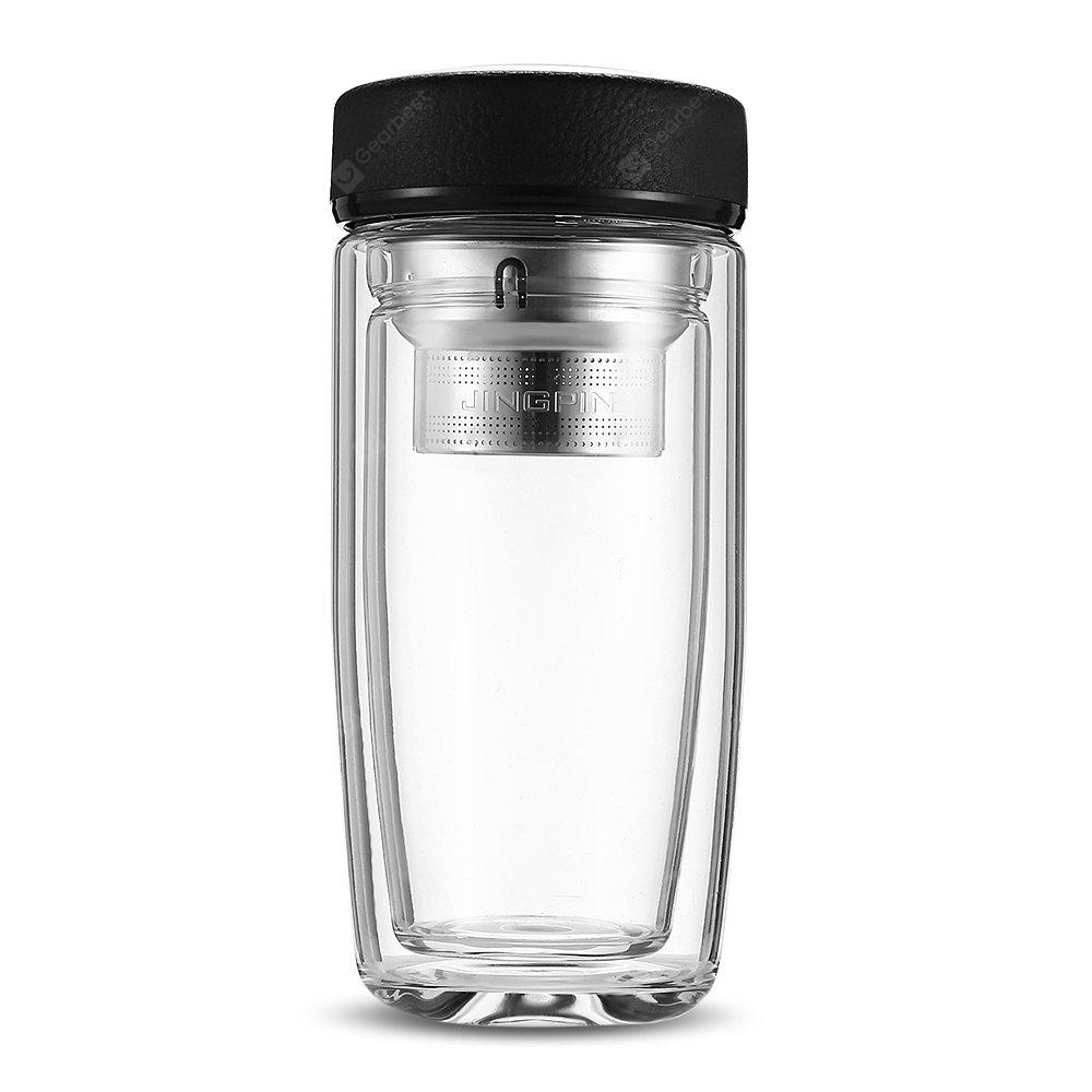 FINDNICE FNB - 0124 Double Layer Glass Water Bottle
