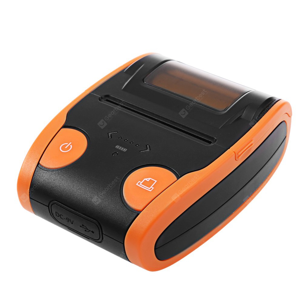 QS 5806 Mini Portable Bluetooth 4.0 Printer