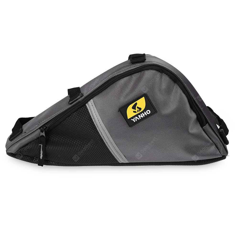 Yanho Outdoor Cycling Bag Front Frame Triangle Pouch, GRAY, Outdoors & Sports, Cycling, Bike Bags