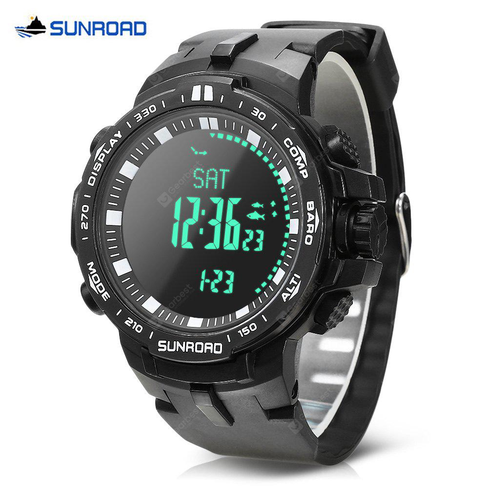Men's Watches Fine Sunroad Digital Led Watch Men Sports Watches 3atm Waterproof Fishing Barometer Multifunctional Watch A Great Variety Of Models