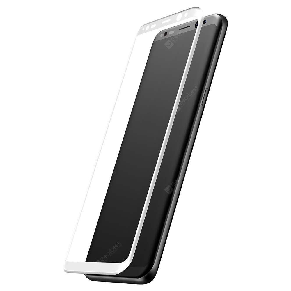 Baseus Tempered Glass 3D Arc Silk-screen Printed Full Edge Coverage Protective Film for Samsung Galaxy S8 0.3mm