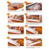 XinBaoLong QH - 01 Electric Automatic Food Vacuum Sealer - ORANGE