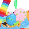 Baby Play Mat Soft Cartoon Animal Gym Fitness Blanket - COLORMIX